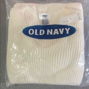 NWT - Old Navy - Cream Sweater - Size XS